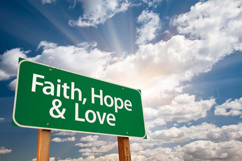 Tro, håp og kjærlighet